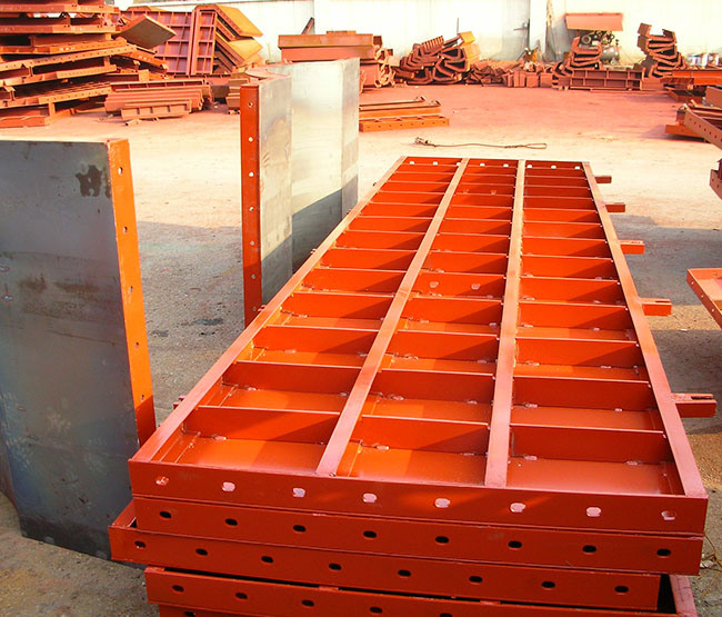 建筑钢模板图片