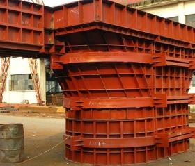 建筑钢模板型号